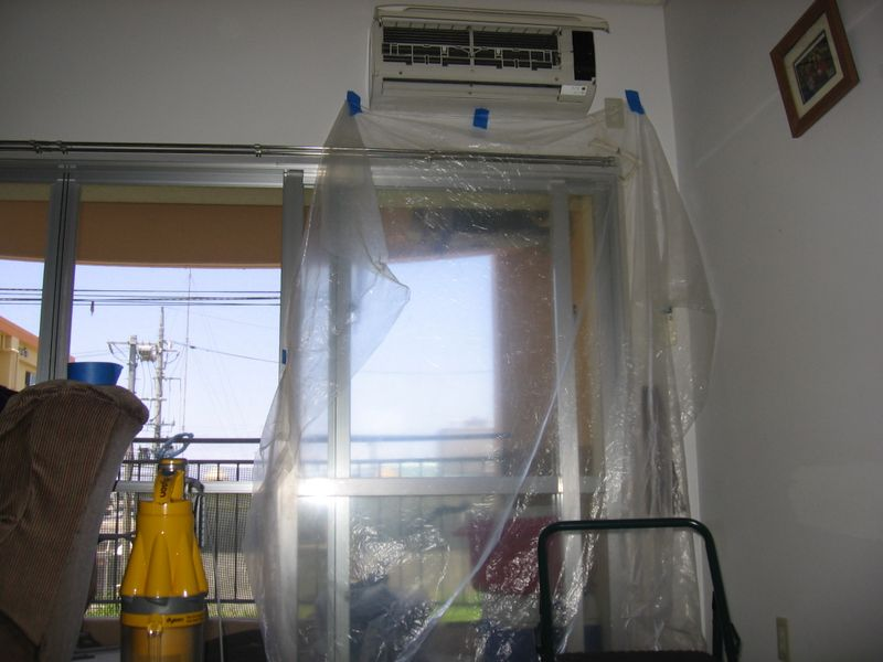 how to clean japanese air conditioner