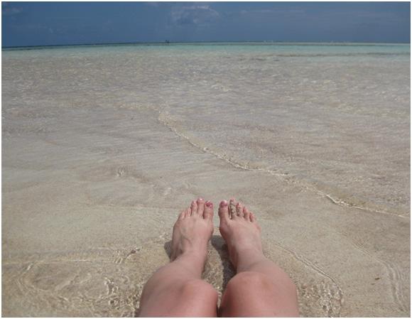 Yoron Island beach