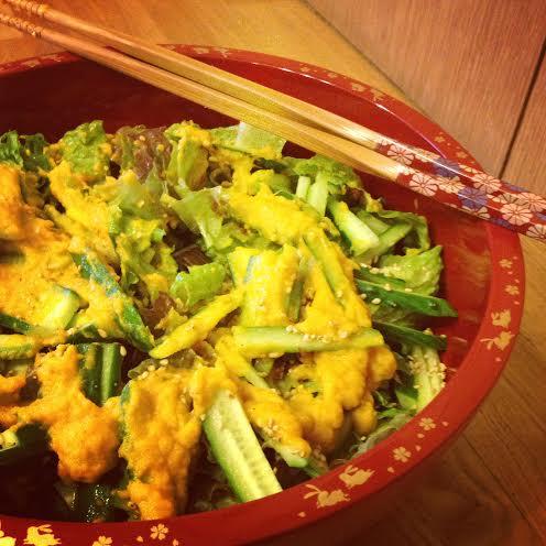 Japanese Ginger Dressing l Okinawa Hai!