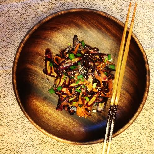 Purple Carrot Salad l Okinawa Hai!