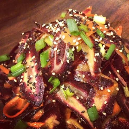 Purple Carrot Salad l Okinawa Hai!