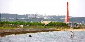 "Windsurfing: Kaichu Doro, ""The Red Bridge"" l Okinawa Hai!"