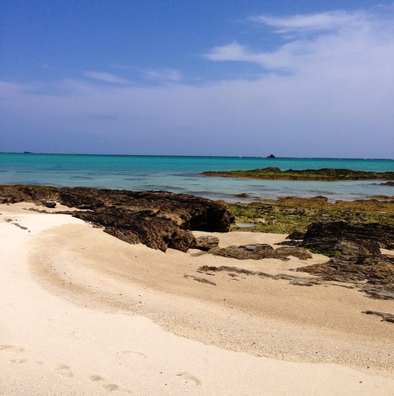 Sea Glass Beach l Okinawa Hai!