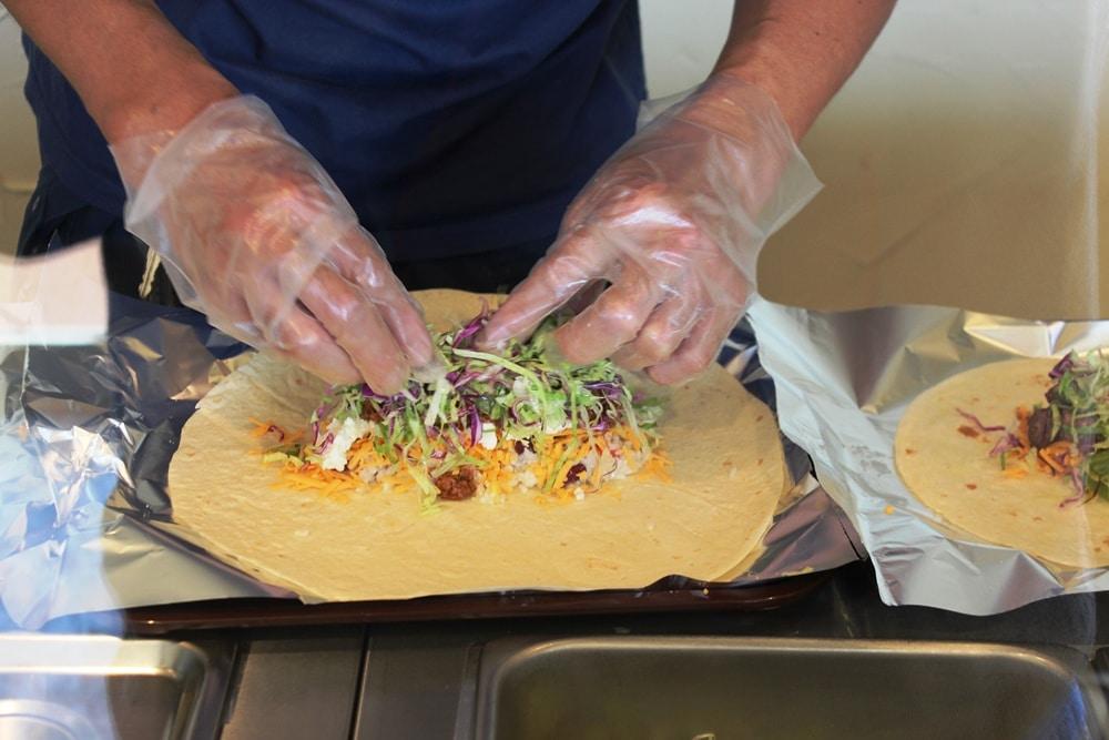 Rollup Burritos l Okinawa Hai!