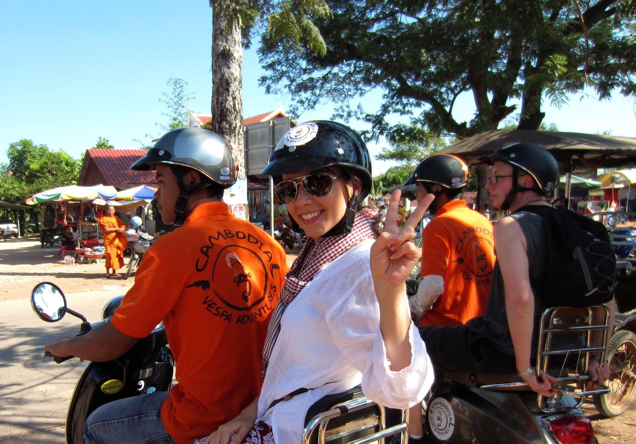 Vietnam & Cambodia Vespa Adventures – Okinawa Hai