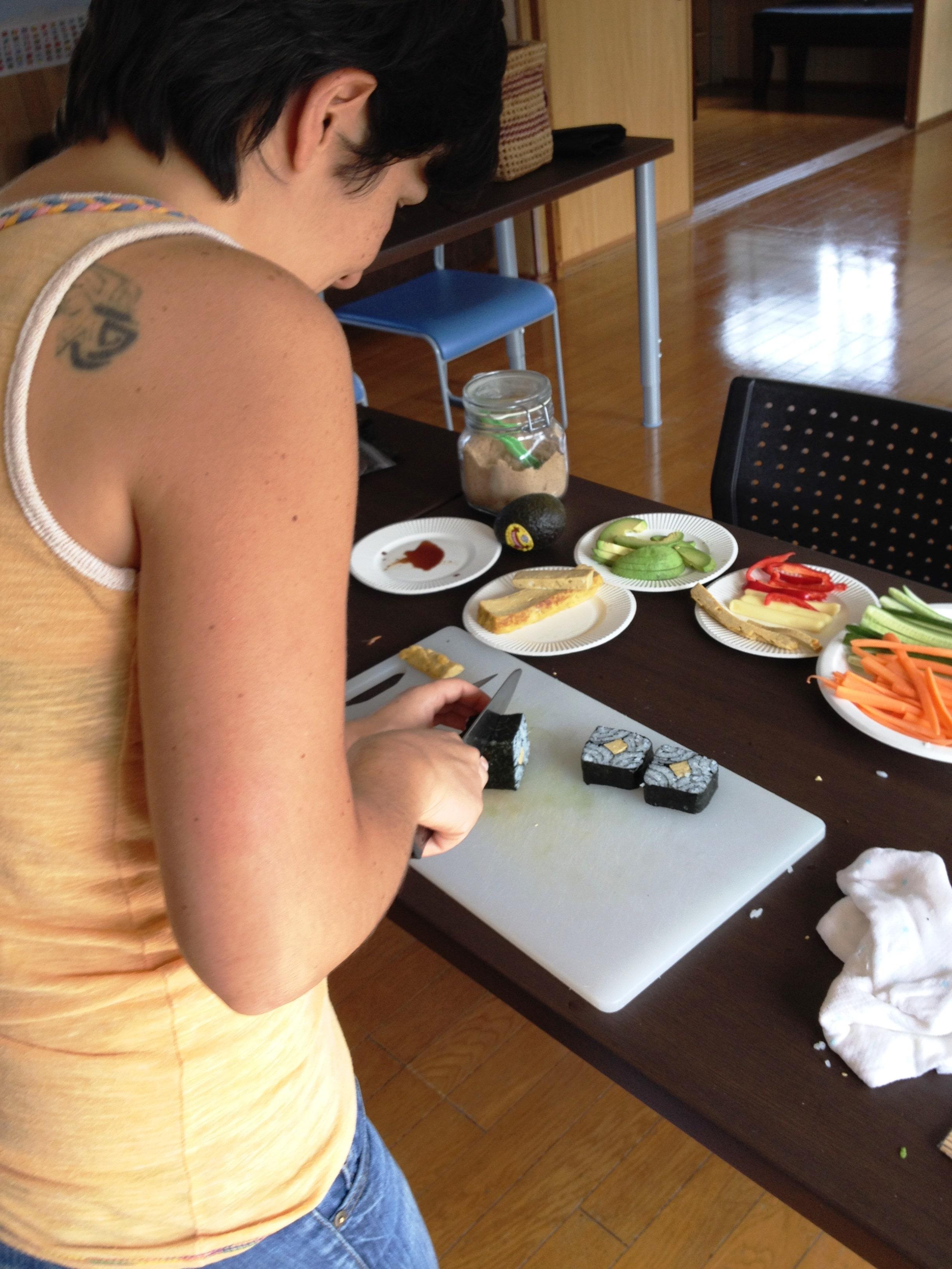 Sushi-Making Class with Nao   Okinawa Hai!