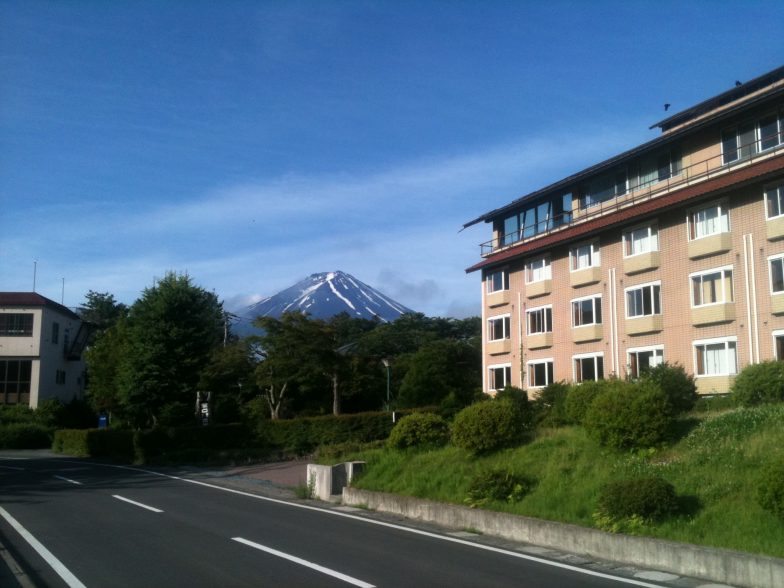 4. Mt Fuji day after