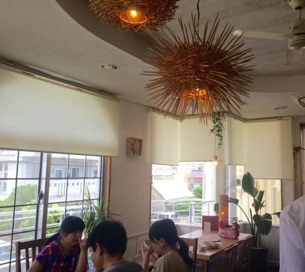 Inside ThaiCoon restaurant
