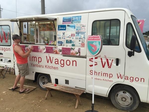 Shrimp Wagon, Kouri Island