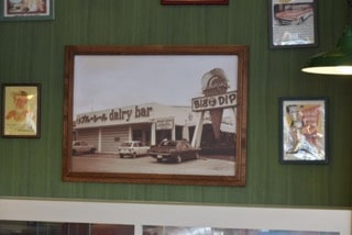 Picture of Old Big Dip Blue Seal Ice Cream, USA
