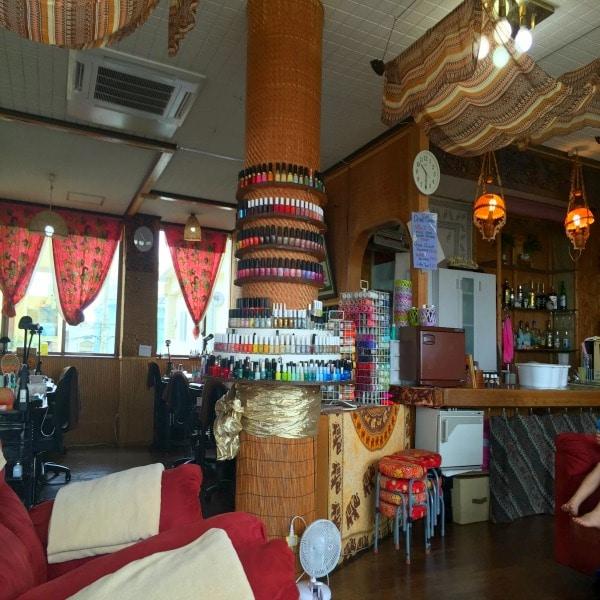Inside of Cocok Nail Salon