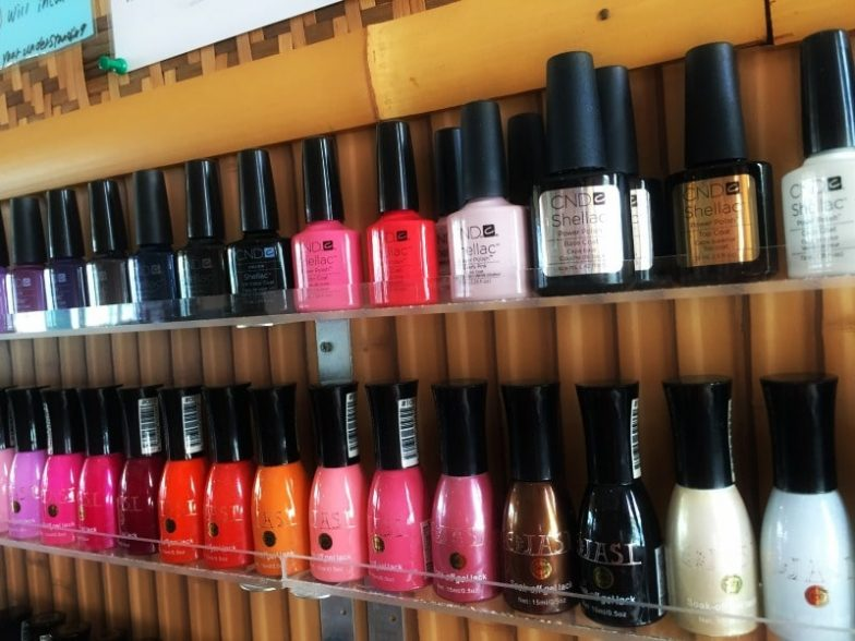 Nail Polish for pedicure and manicure