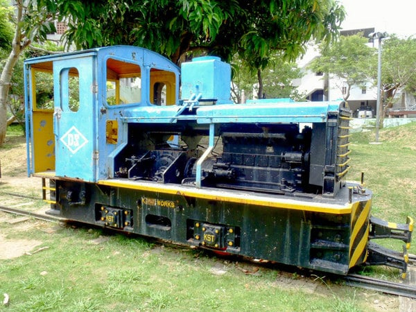 Old Narrow Rail system engine