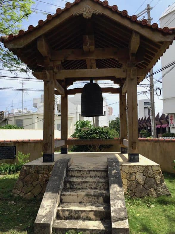 Bell located at the Jingū-ji Temple, Okinawa