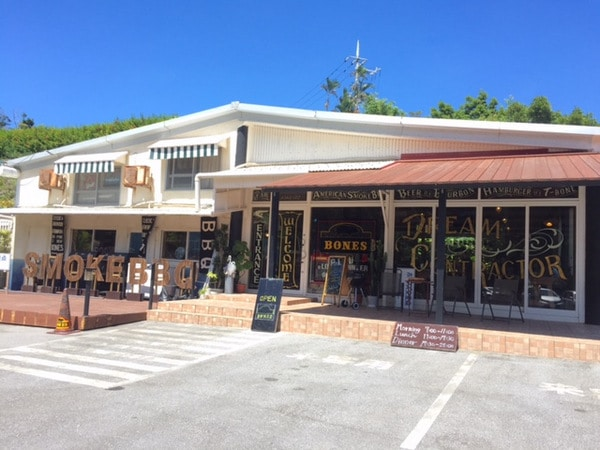 Entrance, Bones BBQ Restaurant, Okinawa