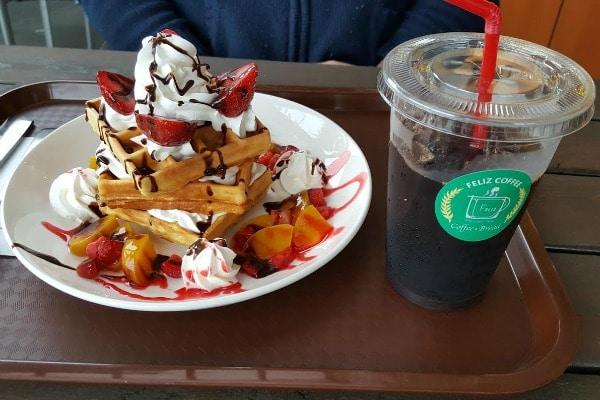 Feliz Coffee in American Viliage, Chatan,Okinawa Japan