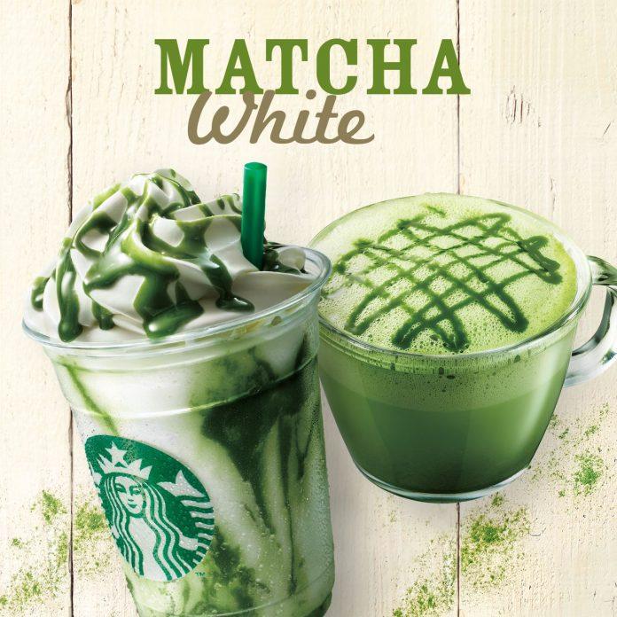 Starbucks Matcha White
